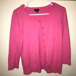 Talbots prima cotton summer button up cardigan S